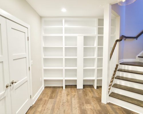 Custom Bookcase Secret Door